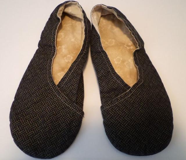 handmade kimono slippers