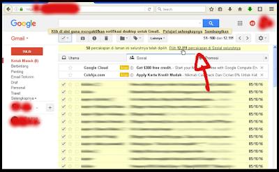 Cara Menghapus Sekaligus Email Di Gmail 2017 3