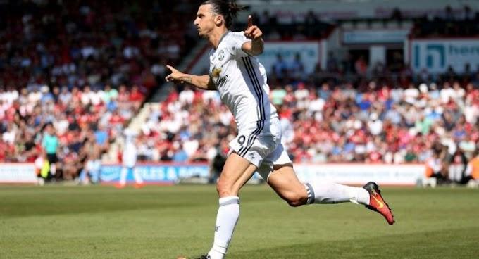 Ibra Scores As United Beat Bournemouth