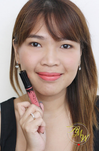 a photo of IN2IT Liquid Matte Lipstick Review (Ravish)_askmewhats