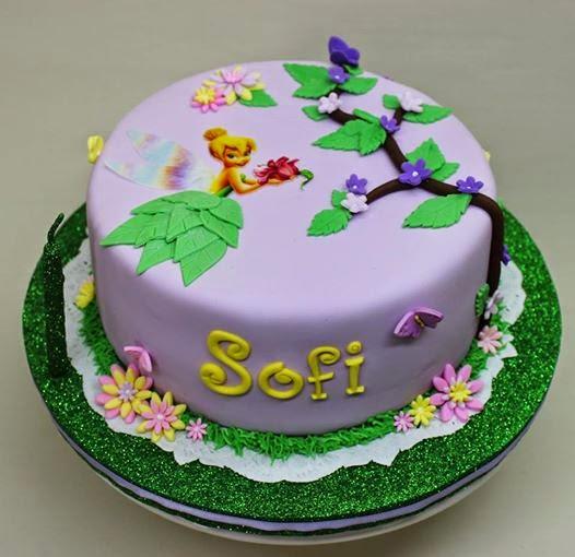 violeta glace tortas para chicos