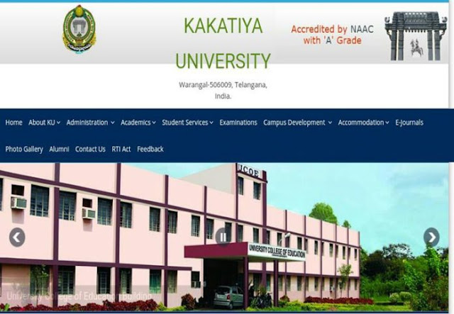 KU degree time table 2021 pdf, Results @kuexams.org