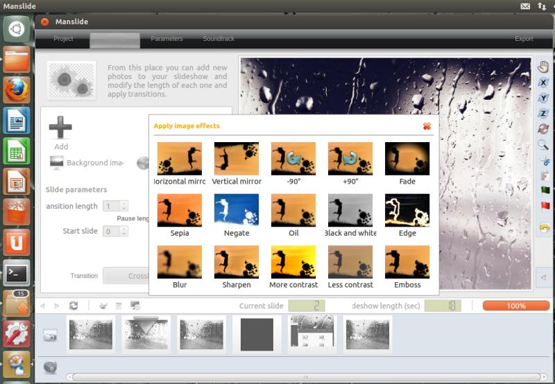 slideshow ubuntu 11.10