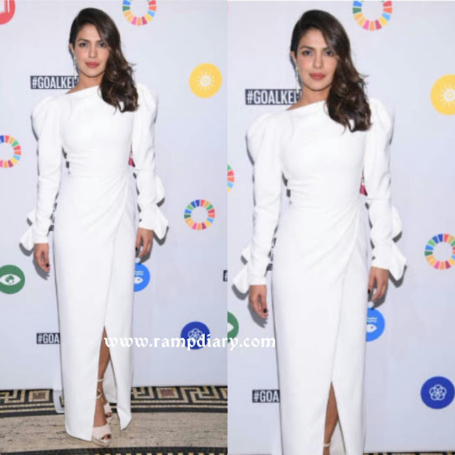 Priyanka Chopra In Christian Siriano