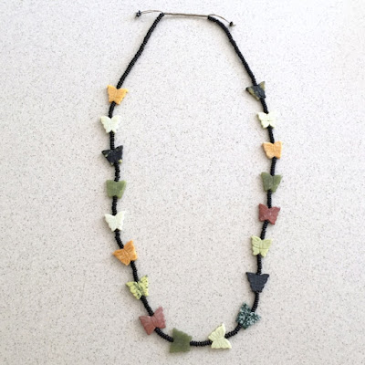 Make a Fetish Necklace with Squaw Wrap Closure