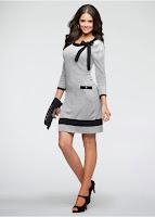 Rochie tricotată cu un model elegant