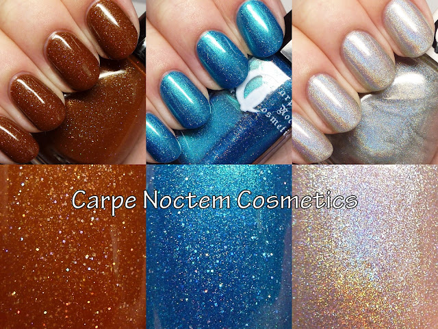 Carpe Noctem Cosmetics polishes