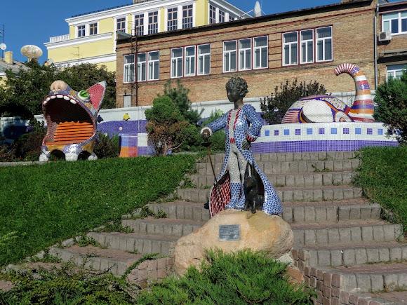 Киев. Пейзажная аллея