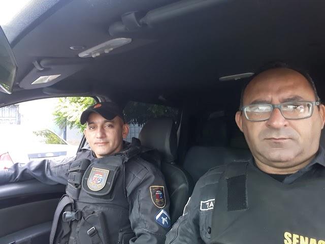 Policiais Militares se comove com historia de menino na cidade de Campo Grande, RN