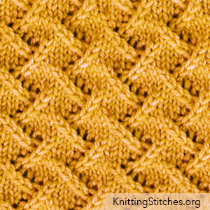 Zig Zag Lace Stitch. The lace pattern is extremely simple to memorize and do!