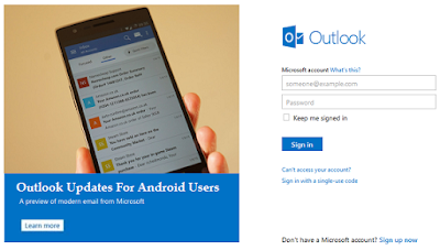outlook support for android users