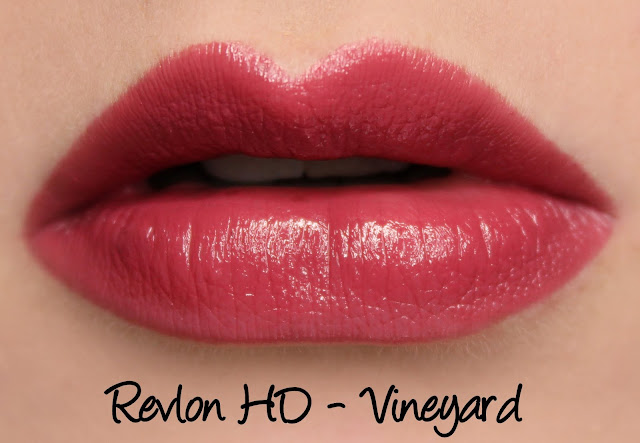 Revlon Ultra HD Gel Lipcolor - HD Vineyard Swatches & Review
