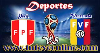 Perú vs Venezuela | Jueves 24 de Marzo de 2016 | Eliminatorias Rusia 2018