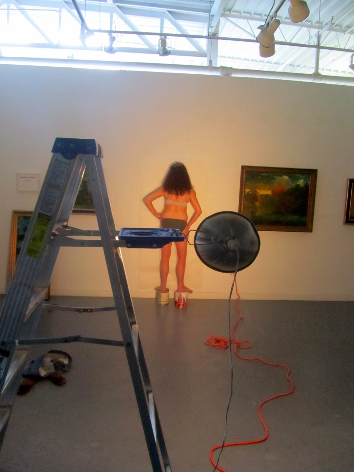 Art In Stitches  A Day As An Installation Artist  Part Two