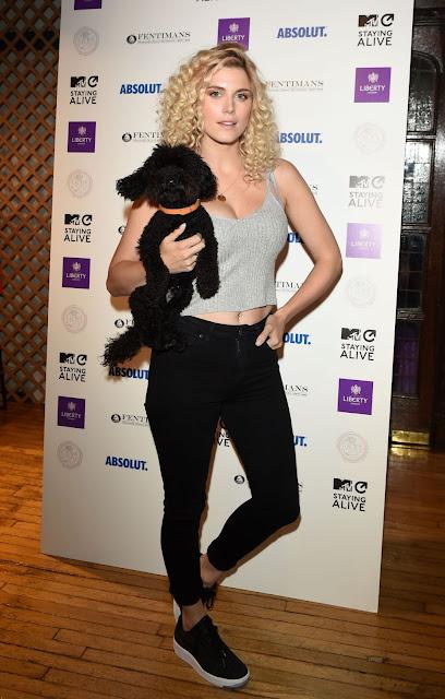 Ashley James – MTV Staying Alive x Liberty London Cocktail Reception