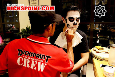 Face Painting Skeleton Halloween Jakarta