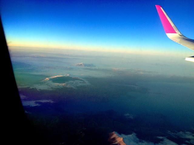 Sobrevolando Turquía en el vuelo a Dubai