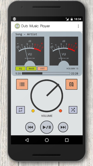 Dub Music Player + Equalizer Apk Download Free Latest