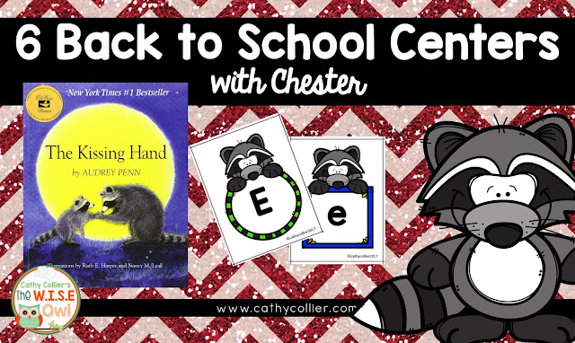 Back to School is the perfect time to create independent centers even for our earliest learners. I have included 6 ideas for back to school with Chester.