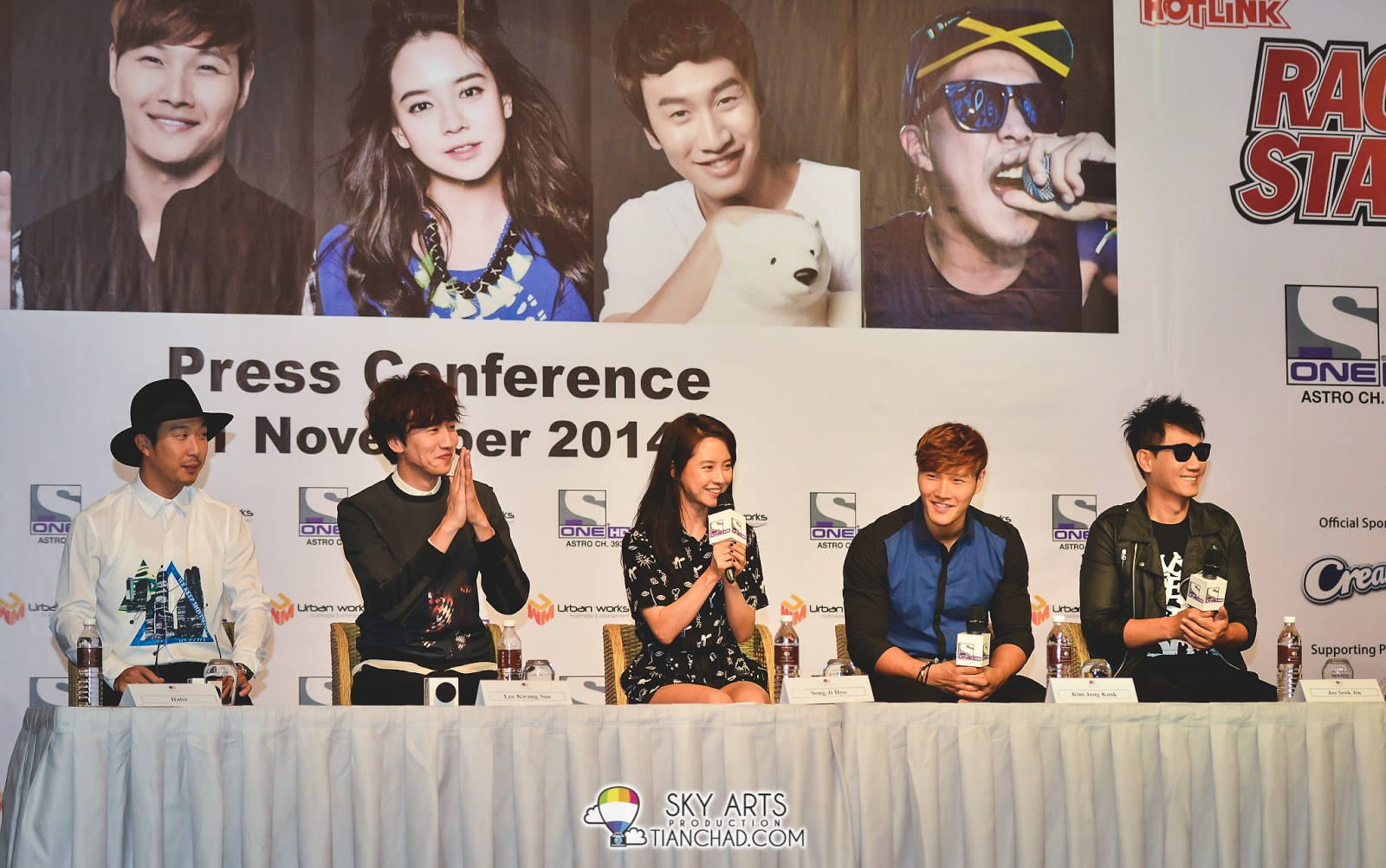 Photo] Running Man #RaceStartMY Live in Malaysia - Press Conference