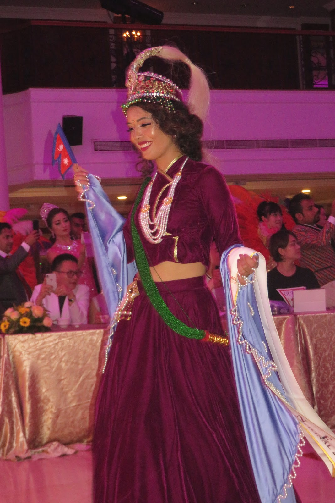 Kee Hua Chee Live!: DAY 2 OF TKS MRS INTERNATIONAL PAGEANT IN