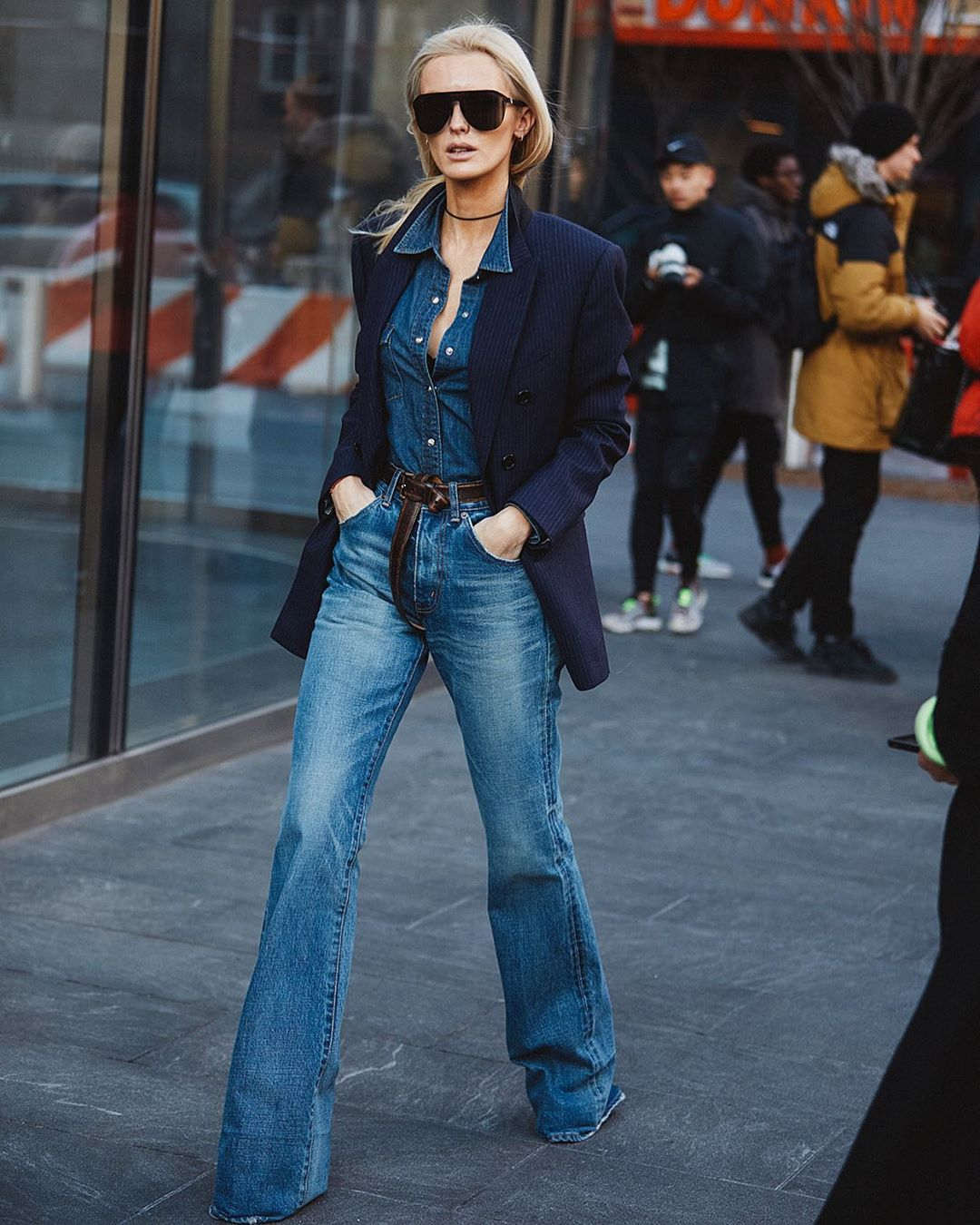 This Double Denim Look is So Good