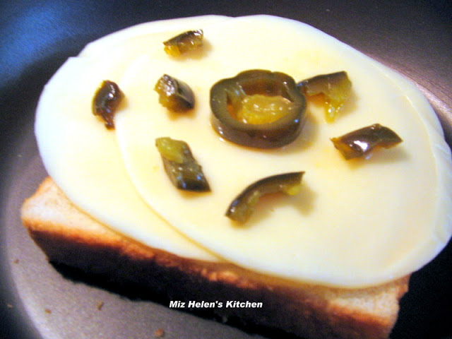 Candied Dijon Bacon Grilled Cheese With Pickled Jalapenos