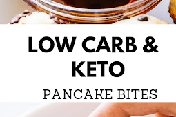 Low Carb & Keto Pancake Bites