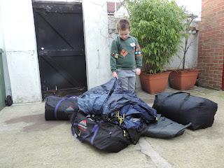 wynnster satellite 12 pod tents with groundsheet