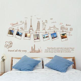 Desain Dinding Kamar Kumpulan foto memori perjalanan