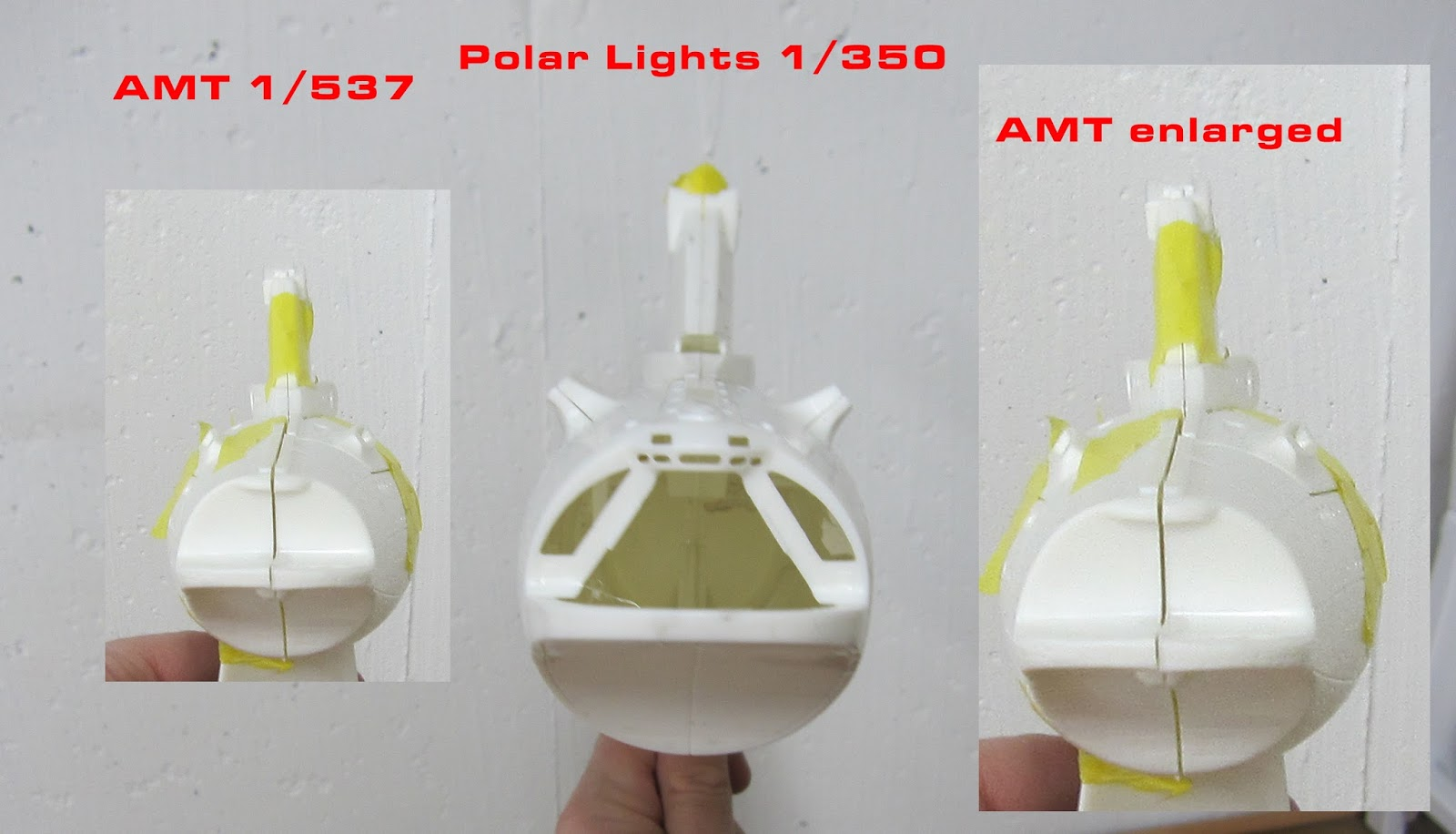 Fordo's Models: Constitution Class Refit Polar Lights 1/350