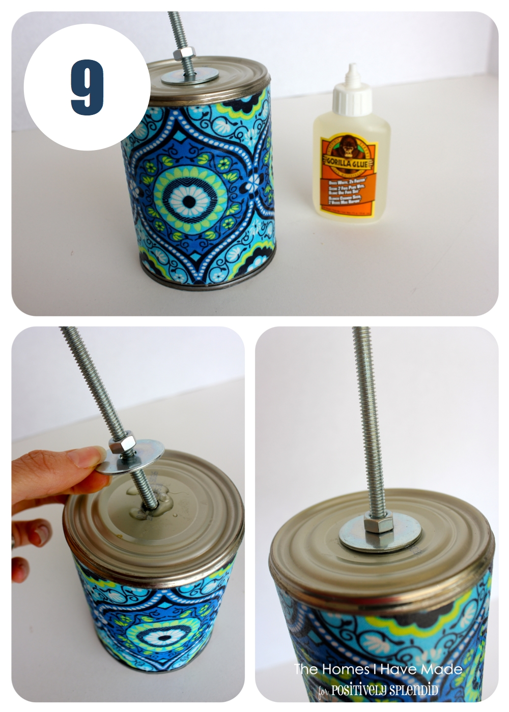Outdoor Drink Holder Tutorial - Positively Splendid ...