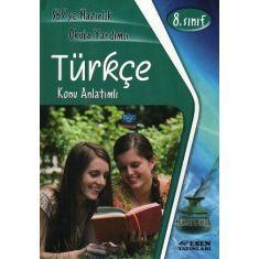 Esen 8.Sınıf Türkçe Konu Anlatımlı