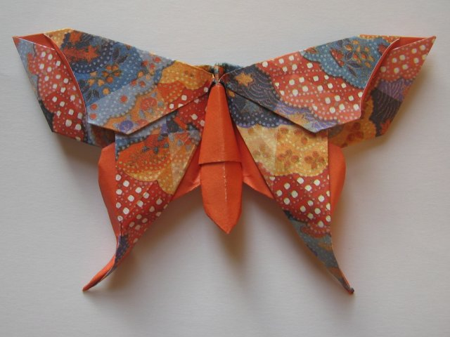 Origami Maniacs: Beautiful Origami Butterfly by Michael ... - photo#37