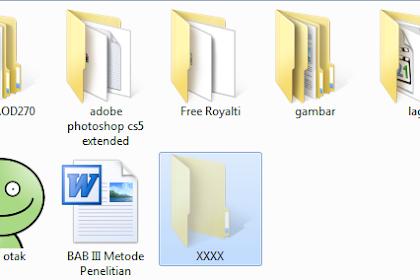 Cara Mudah Melihat File Terhidden