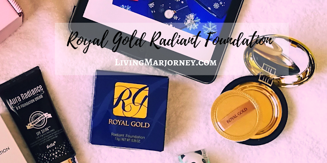 Monday Makeup Review: Royal Gold Radiant Foundation