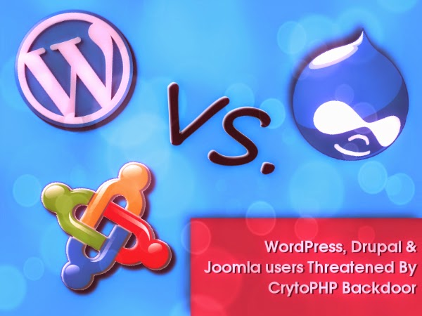 WordPress, Drupal & Joomla users Threatened By CrytoPHP Backdoor
