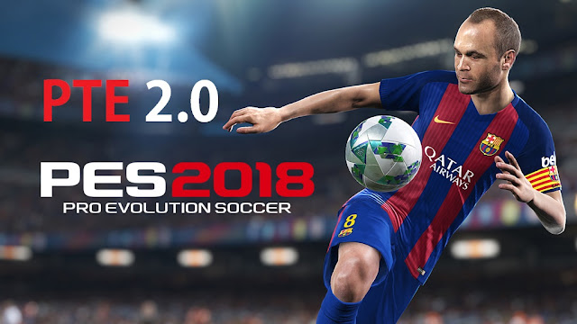 PTE Patch 2018 2.0 Released Untuk PES 2018 PC forteknik.com