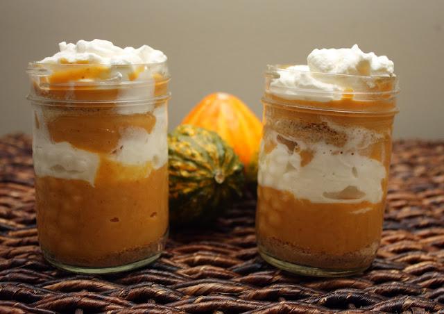 Pumpkin Custard Parfaits