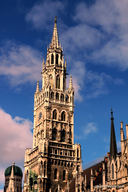 munich germany marienplatz travel photography sky