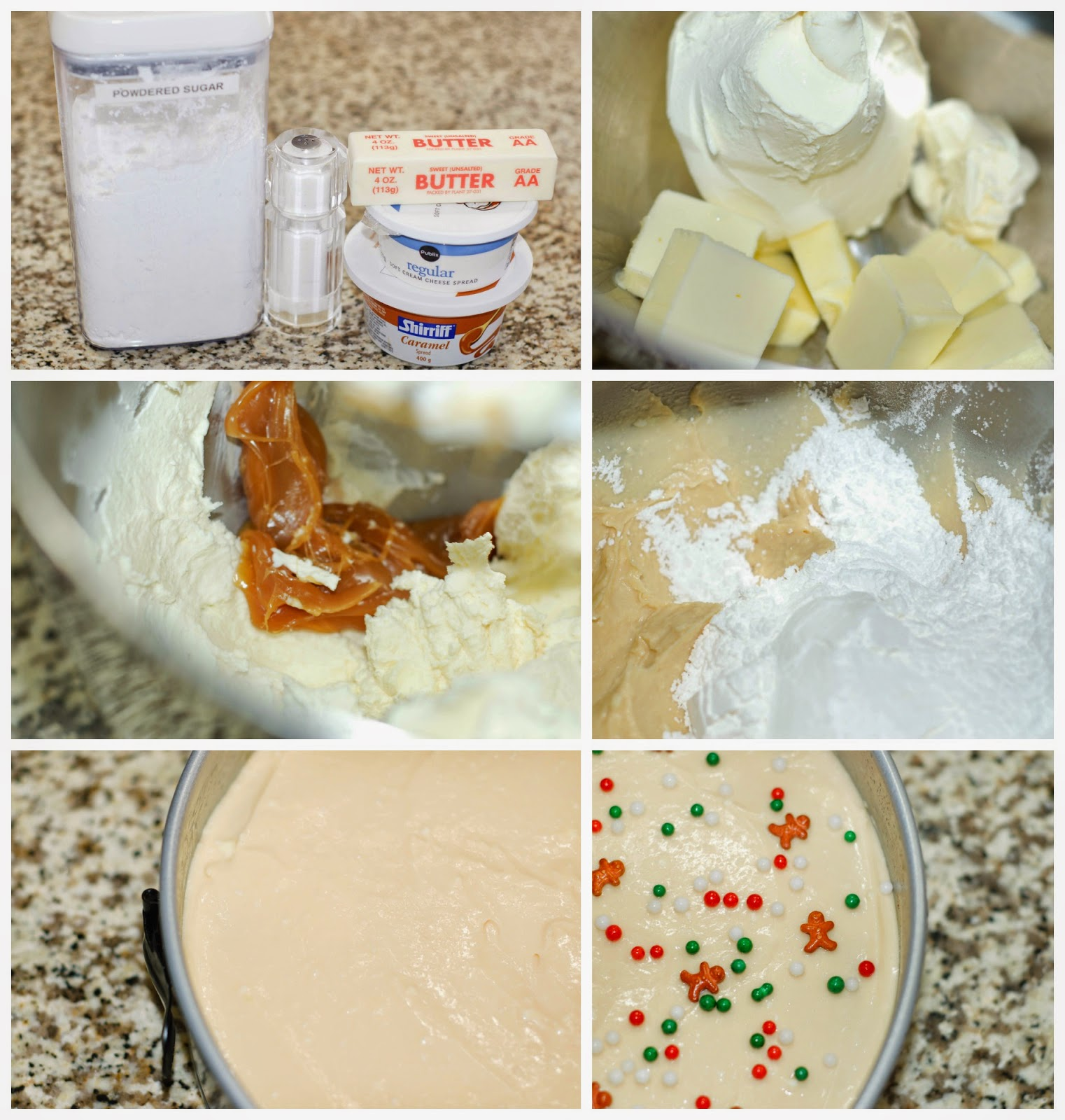 Making Salted Caramel Cream Cheese Frosting by The Sweet Chick