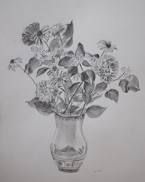 Drawing Flower Drawings