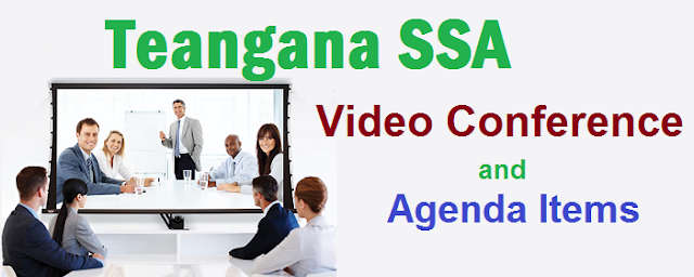 TSSA Video Conference,Discussing Agenda Items,Badi Bata