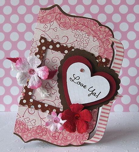 Valentine's Day Heart-Shaped Cards Images