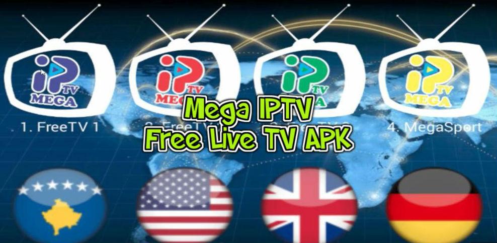 تحميل تطبيق Mega IPTV مهكر للاندرويد