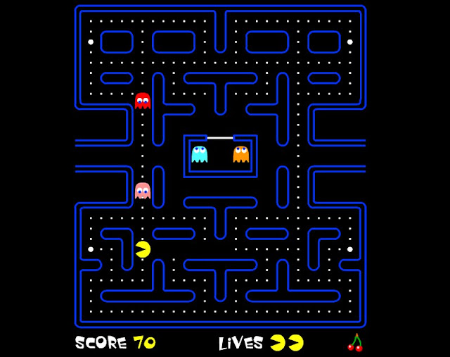 Fabulous Pac Man Maze Coloring Pages With Pac Man Coloring Pages: Indie Retro News: Pac-man