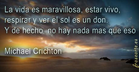 Frases de amor - Michael Crichton