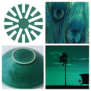 JULY moodboard for MARINE GREEN