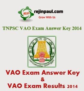 VAO exam answer key 2014 - VAO exam results 2014