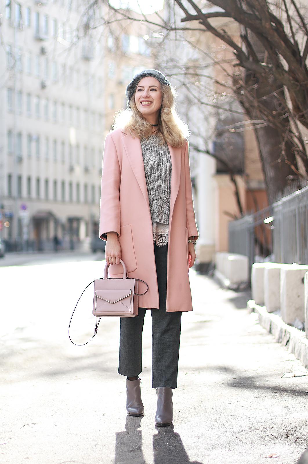 Margarita Maslova Ritalifestyle Fashion blogger Moscow Romantic style sport chic Pastel looks_pink_color